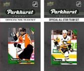 NHL Philadelphia Flyers 2017 Parkhurst Team Set and All-Star Set