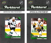 NHL San Jose Sharks 2017 Parkhurst Team Set and All-Star Set