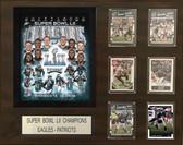 "NFL 16""x20"" Philadelphia Eagles Super Bowl 52 Champions Plaque"