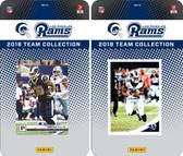 NFL Los Angeles Rams Licensed 2018 Panini and Donruss Team Set