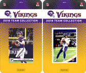 NFL Minnesota Vikings Licensed 2018 Panini and Donruss Team Set