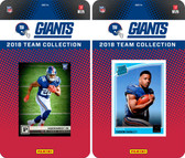 NFL New York Giants Licensed 2018 Panini and Donruss Team Set