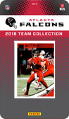 NFL Atlanta Falcons Licensed 2018 Donruss Team Set.