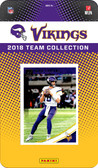 NFL Minnesota Vikings Licensed 2018 Donruss Team Set.
