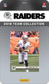 NFL Oakland Raiders Licensed 2018 Prestige Team Set.