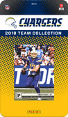 NFL Los Angeles Chargers Licensed 2018 Prestige Team Set.