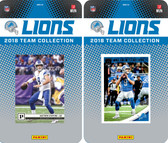 NFL Detroit Lions Licensed 2018 Panini and Donruss Team Set