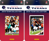 NFL Houston Texans Licensed 2018 Panini and Donruss Team Set