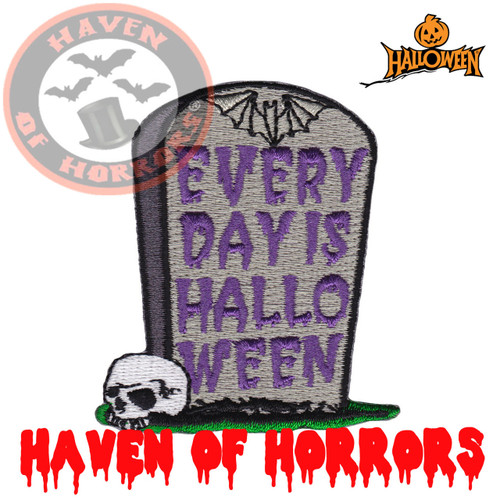 Everyday is Halloween Patch - havenofhorrors