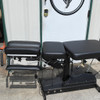 Used Leander 900Z Elevation Auto Flexion Table with 3 Drops- Black Upholstery