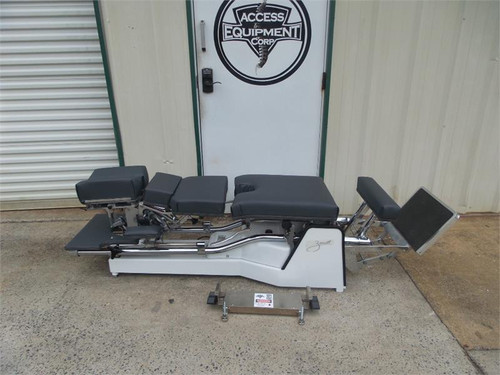 Used Zenith II 220F Hylo Table with Cervical & Pelvic Drop