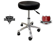 New Deluxe Chiropractic Gas Charged Stool with Steel base 5 Castors