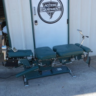 Used Zenith Cox 100  Flexion Table withFlexion  Power Balance