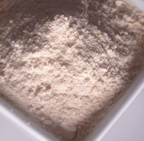white shiro flour
