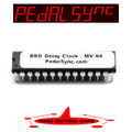 Analog BBD Delay Clock IC MV-64