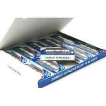 Dorco Razor Blades Double 10 pack of 10 Blades
