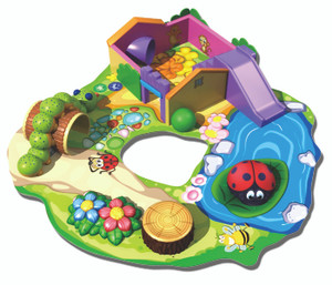 Soft Sculpted Foam Play -4 Indoor Playground System
