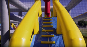 Inflatable Indoor & outdoor Playground Games & Obstacle  for Hit And Run  US | Cheer Amusement