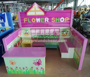 Flower Shop Theme Indoor Playground Equipment