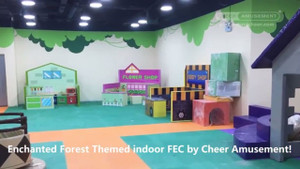 Soft Play Indoor Supplier | Enchanted Forest Themed indoor FEC | Cheer Amusement