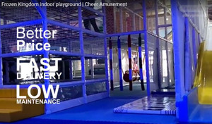 Frozen Kingdom indoor playground | Cheer Amusement | 20 Years Industry experience