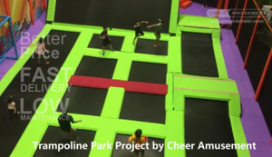 Trampoline Park Project  |  Cheer Amusement   | February,2017