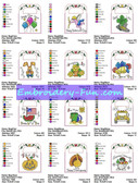 GIFT BAGS MACHINE EMBROIDERY DESIGNS