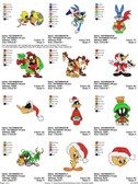 LOONEY TUNES CHRISTMAS EMBROIDERY DESIGNS PATTERNS