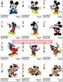 MICKEY MOUSE NEW DISNEY Machine Embroidery Designs