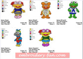 MUPPET BABIES EMBROIDERY DESIGNS