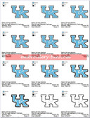 University of Kentucky Wildcats LOGO MACHINE EMBROIDERY DESIGNS