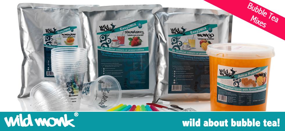 Bubble Tea Mixes Wild Monk Brand