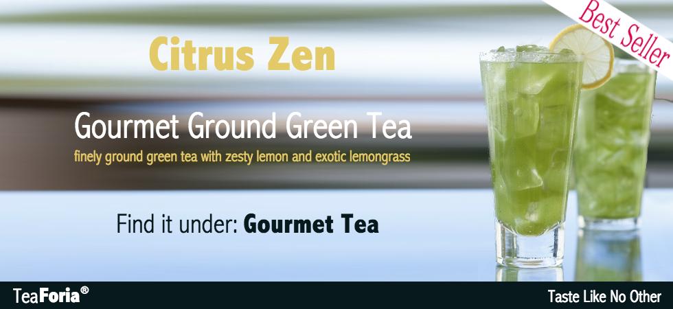 Best Seller: Teaforia Citrus Zen Gourmet Tea