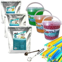 Wild Monk Bubble Tea Pro Kit (FREE TOOLS AND STRAWS) - Contemporary