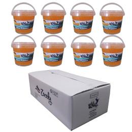 1.2kg Wild Monk Mango Juice Pobbles - 1 Case (8 tubs)