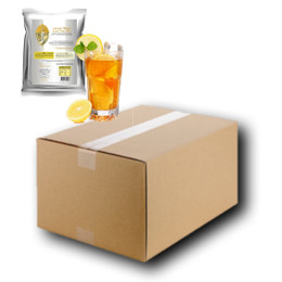 FULL CASE WHOLESALE 10 x 1kg LEMON (Black) Iced Tea Mix - Teaforia