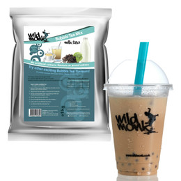 1kg MILK TEA Bubble Tea Mix WILD MONK