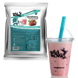 1kg STRAWBERRY Bubble Tea Mix WILD MONK