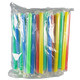Pack of 50 Individually Wrapped Chunky Straws for Bubble Tea or Juice Pobbles by Wild Monk