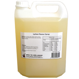 5kg (4L) Syrup for Bubble Tea - Lychee