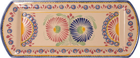 Rectangle Platter - Corbeille Rose