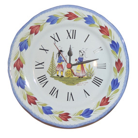 Wall Clock - Mistral Blue - IN STOCK