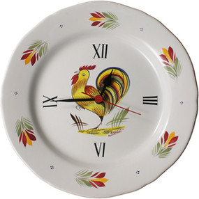 Wall Clock - French Rooster