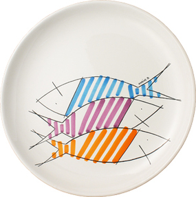 Plate - Happy Fish