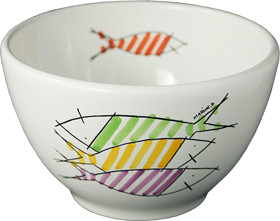 Parisian Bowl - Happy Fish