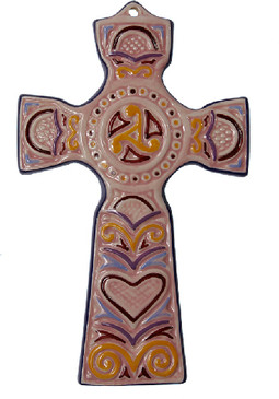 Breton Cross - Pink