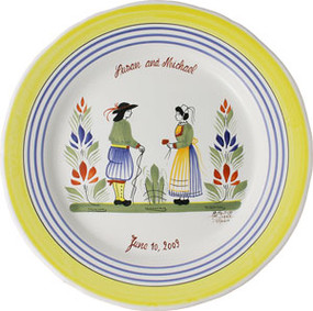 Marriage Anniversary Plate - Henriot