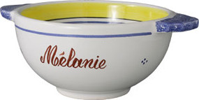 Henriot - Woman - Personalized Lug Bowl
