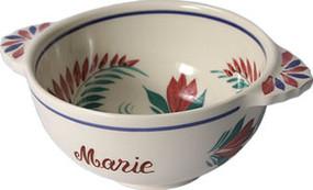 Fleuri - Personalized Lug Bowl