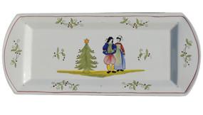 Christmas Cake Dish - Decor Spirit of Christmas